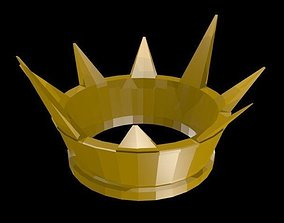 3D model Low poly Crown