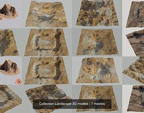 Collection Landscape 3D models