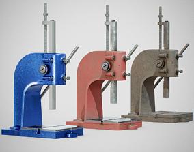 3D asset Precision Bench Press - Generic 01