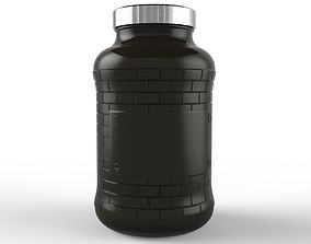 3D Wall Jar 760ml