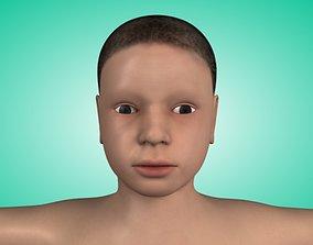 Character Child Model 3D asset