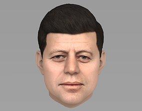 putin 3D John Fitzgerald Kennedy