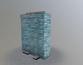 Prague City Tower 3D model
