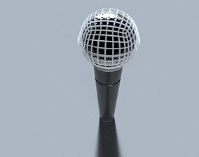 Microphone 3d model c4d and Redshift