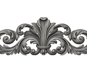 Central decor ornament details 3D printable model