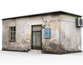 3D model Old Slum House 1