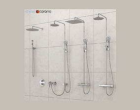 3D Bathroom mixer set Ravak set 16