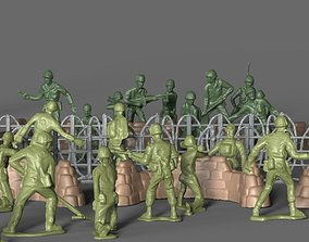 3D model Green Army Miniatures