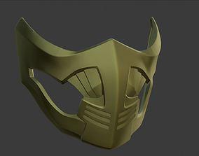 Scorpion Mask Mortal Kombat 11 and X 3D printable model 2