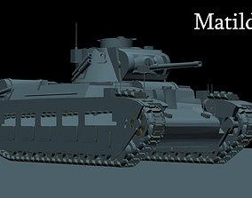Matilda II tiger 3D model