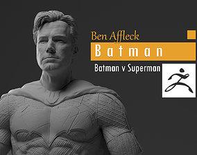 Ben Affleck - Batman without mask - 3D printable model 2