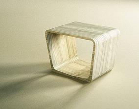 Coffee table Simple design made of wood Bernhardt design