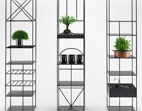 Estantes e armarios 3D
