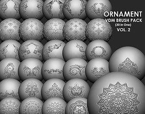 Ornament VDM Brush Pack Vol2 30 in One 3D model