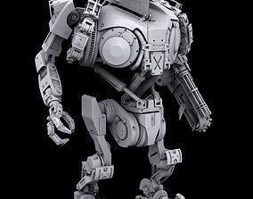 Robocop2 movie Cain action figure 3d printable