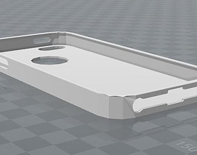 3D printable model iPhone 5 case simple design