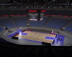 3D model Basketball stadium