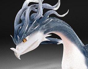 elements 3D model Dragon