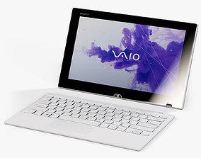3D model Sony VAIO TAP 11 ultrabook