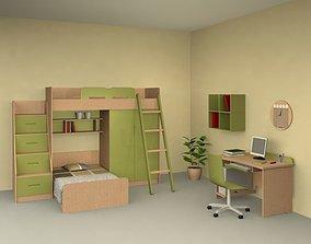 Nursery Room 4 Set 3D model