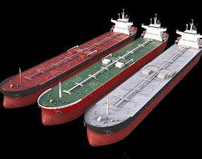 3D asset collection PANAMAX tanker 245m