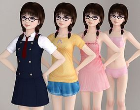 3D Yume various outfit pose 01