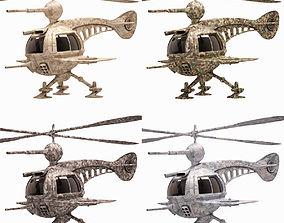 3D asset Drone Set Concept 2016