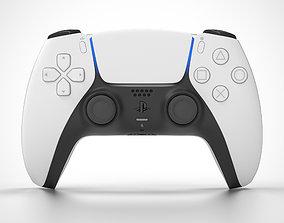 PS5 DualSense Controller entertainment 3D model