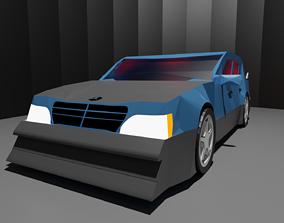 Mercedes AMG C-Class DTM 3D asset