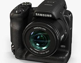 Samsung WB2200F bridge digital camera 3D model