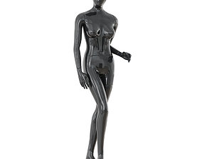 Abstract female mannequin 18 3D