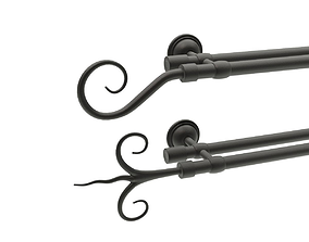 3D Curtain Rods No2