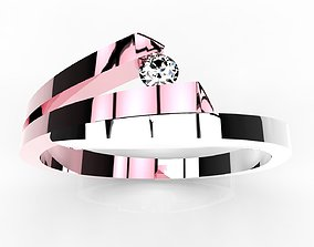 JEWELRY WOMEN 3D RING - CAD-05