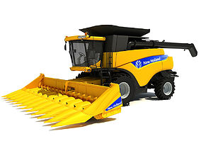 New Holland Harvester 3D