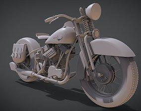 3D print model 1936 Harley-Davidson EL