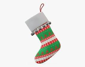 3D model Gift Christmas stocking 02