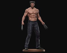 wolverine Hugh Jackman Wolverine Logan 3d print model