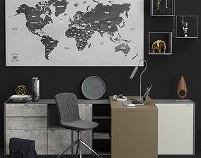 Office Copenhagen BoConcept 3D model