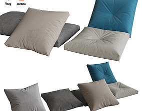 Pillows set 06 3D