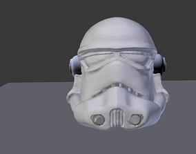 man Star wars helmet 3D model