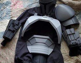 3D print model FULL Mandalorian heavy infantry armor 3