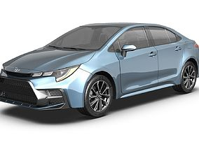 3D 2020 Toyota Corolla