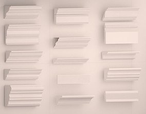 Cornice collection 3D model