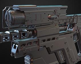 3D print model Cyberpunk 2077 Kang Tao Gun