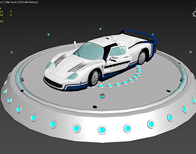 3D asset Maserati MC12