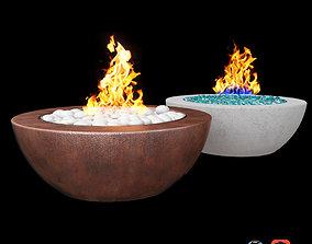 3D Fire Pit Concrete