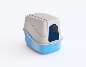 Plastic box 01 3D model