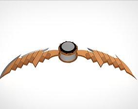Pumpkin Bomb with Razors 3D print model