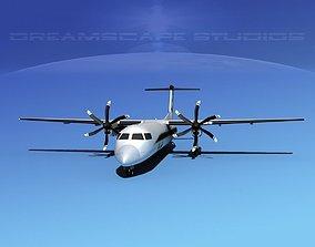 Dehaviland DHC-8 400 Air South 3D