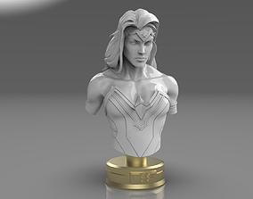 Wonder Woman Bust 3D print model